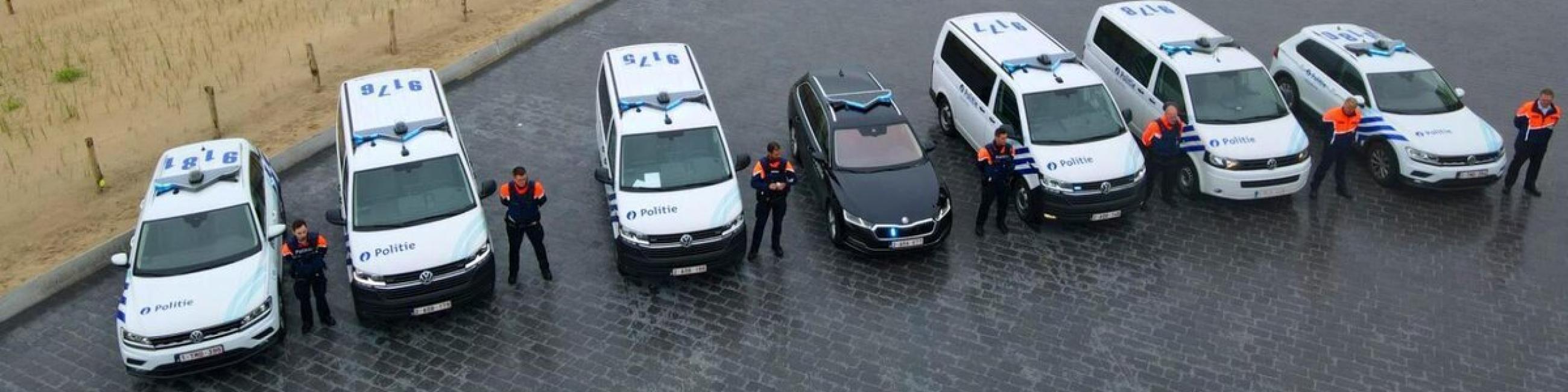 Politie Middelkerke is klaar voor de zomer
