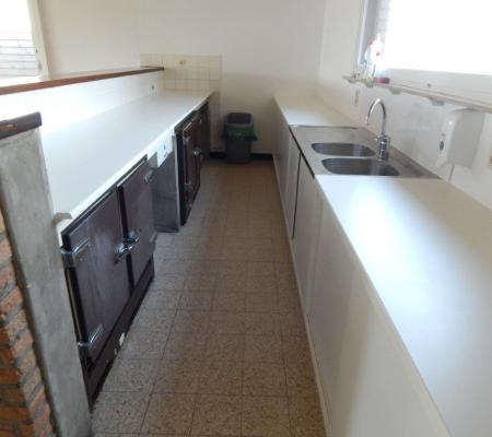 Keuken zaal Wilskerke