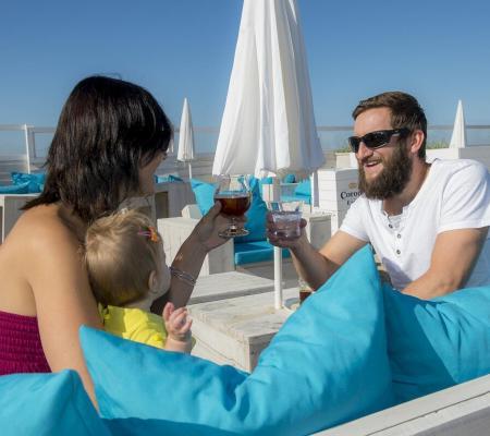 Bars à la plage