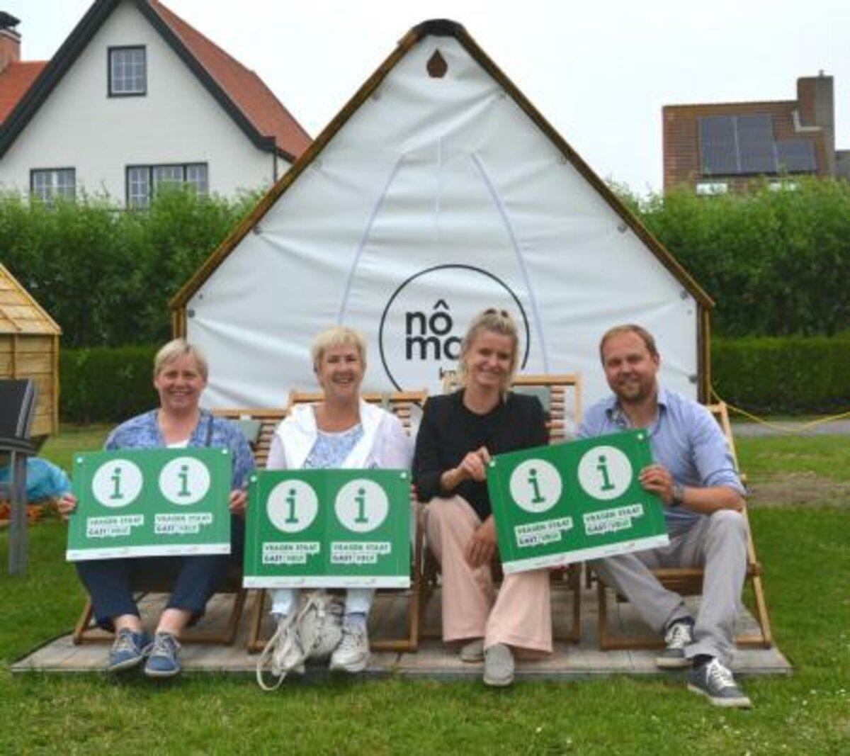 Campings Zomerzon, De Lombarde en Kompas Westende behalen label gastvrij onthaal
