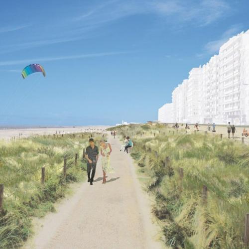 Vernieuwing zeedijk wint twee awards