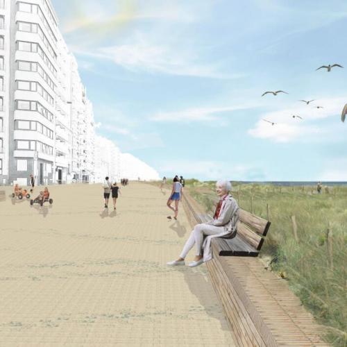 omgevingsvergunning voor nieuwe zeedijk