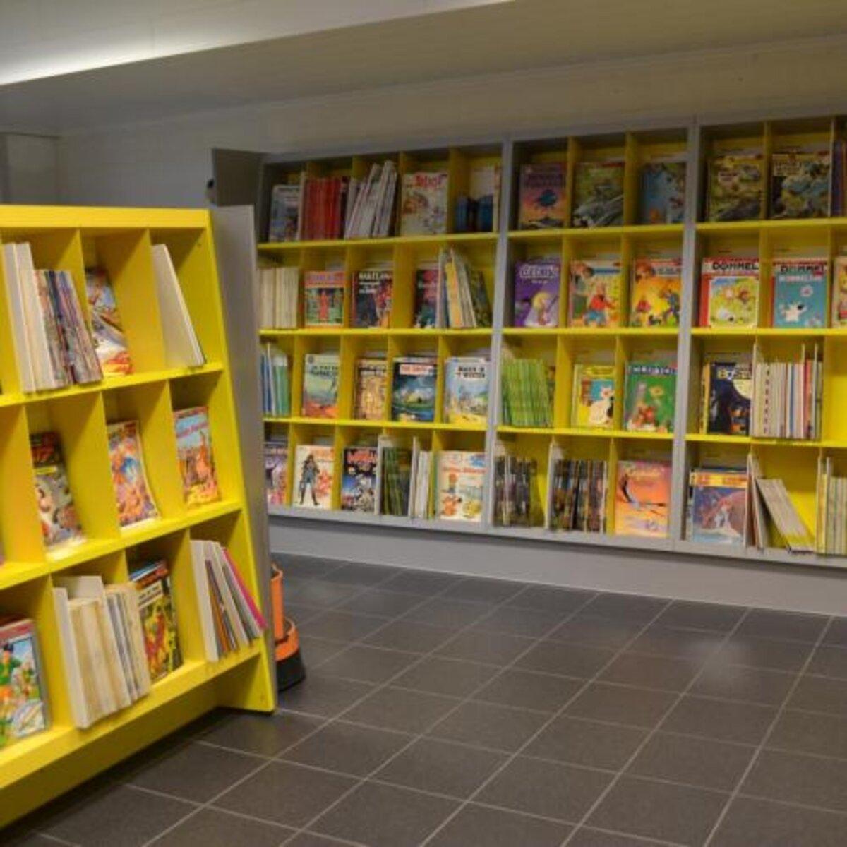 Stripcollectie Bibliotheek Middelkerke